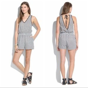 Madewell Beachcomber Romper Swim Cover Up